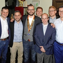 v.l.n.r. Christoph Stetter, Mario Bacher, Miro Grenda, Christian Mühlherr, Stefan Hofmeister, Marko Kempter, Patrick Schwehr
